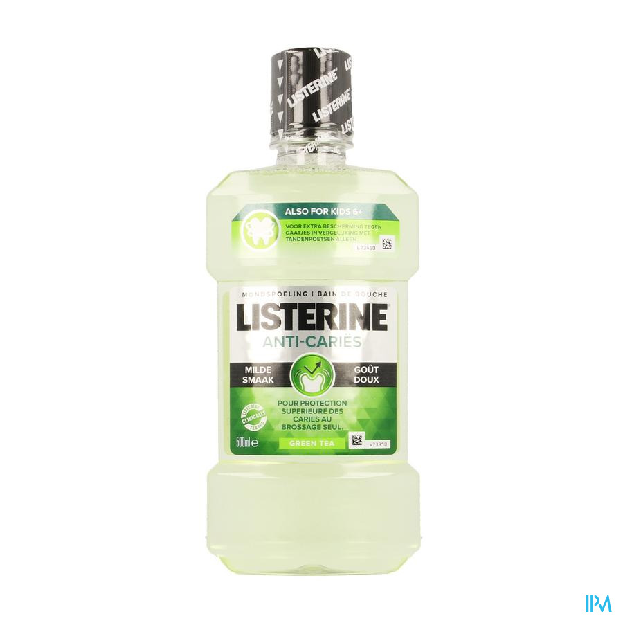 Listerine Protection Caries Eau Buccale 500ml