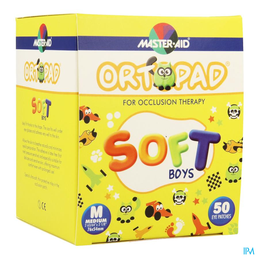 Ortopad Soft Boys Medium 76x54mm 50 72242
