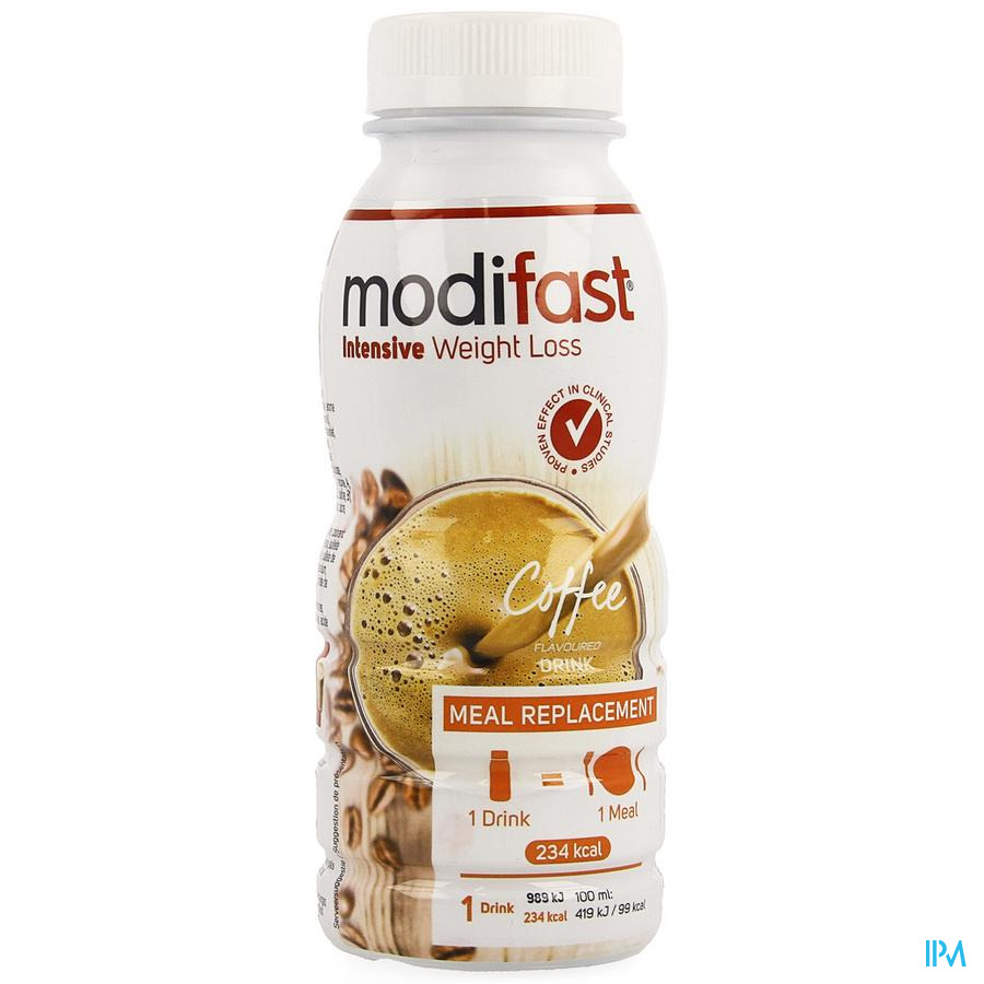 Modifast Intensive Coffee Flavoured Drink 236ml