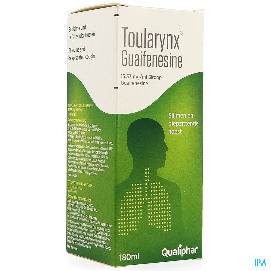 TOULARYNX GUAIFENESINE 13,33 MG/ML SIR 1