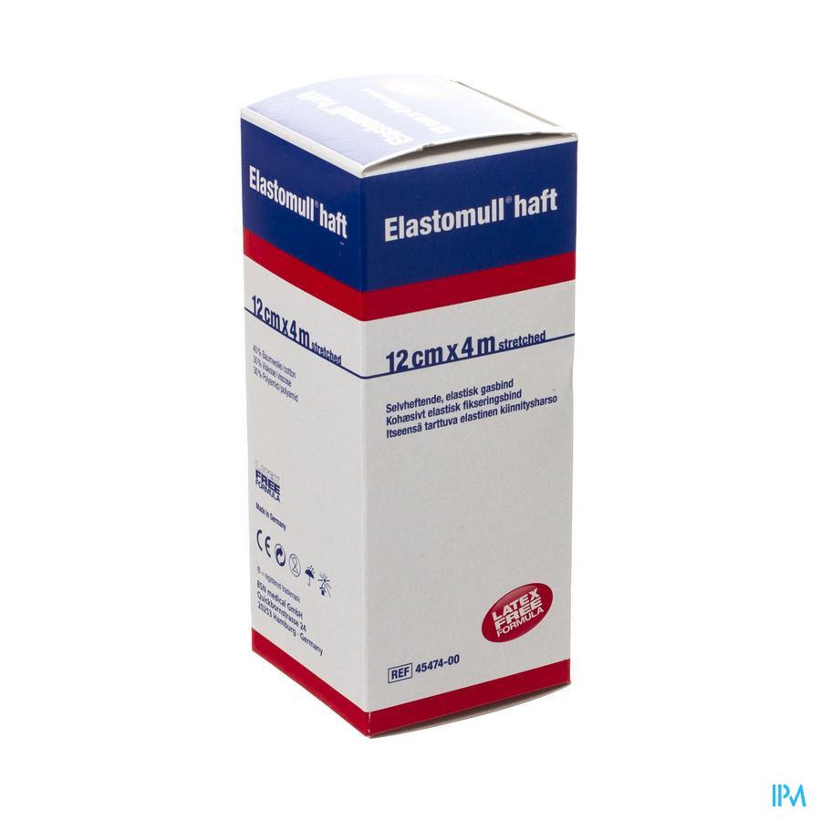 Elastomull Haft Fixatiewindel Coh. 12cmx4m 4547400