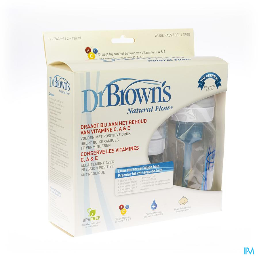 Dr Brown De Luxe Newborn Kit 816 Escos