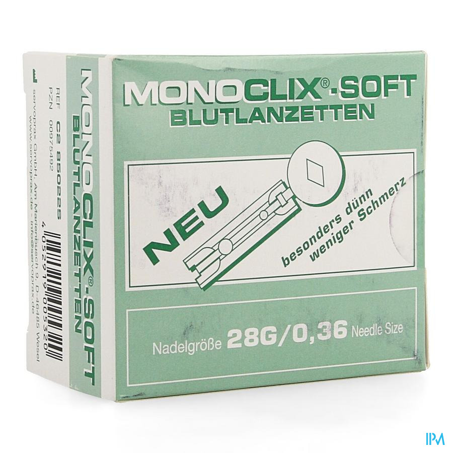 Moniclix Soft Lancet 28g 1
