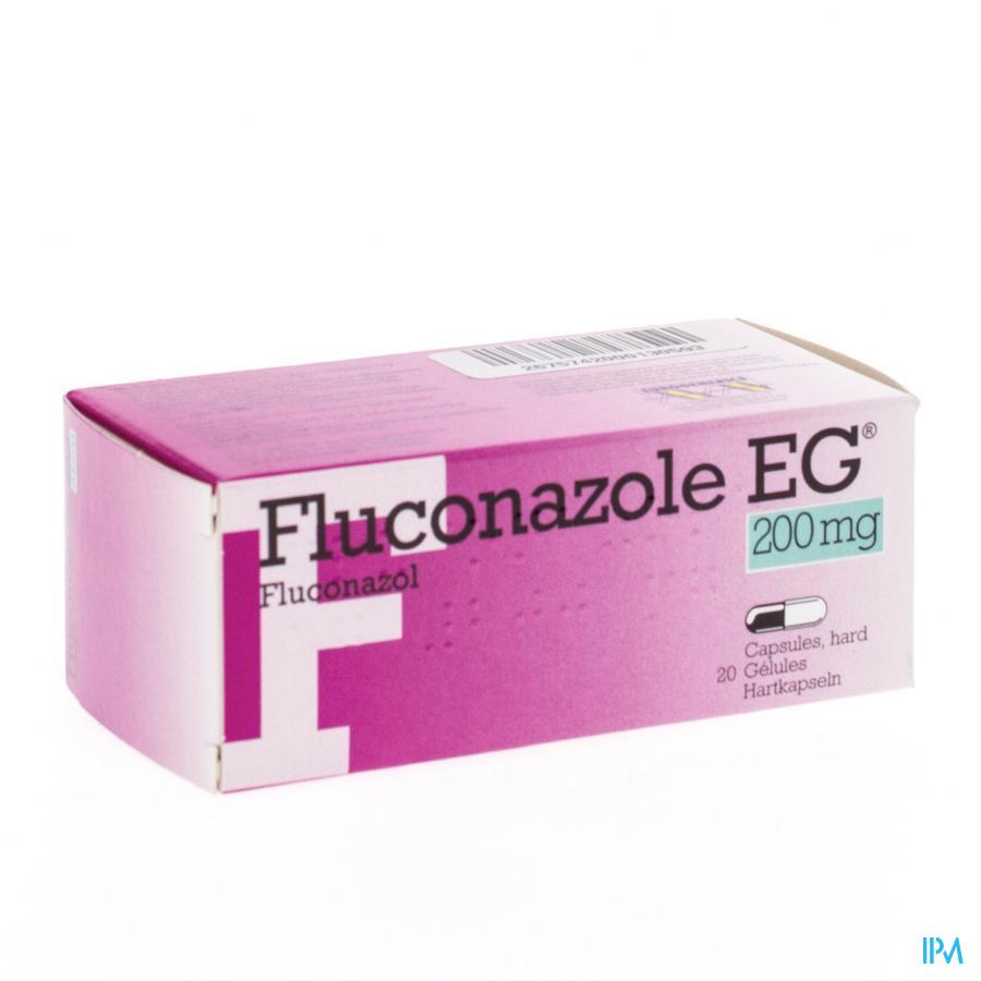 Fluconazol Eg Pi Pharma Caps 20 X 200mg Pip