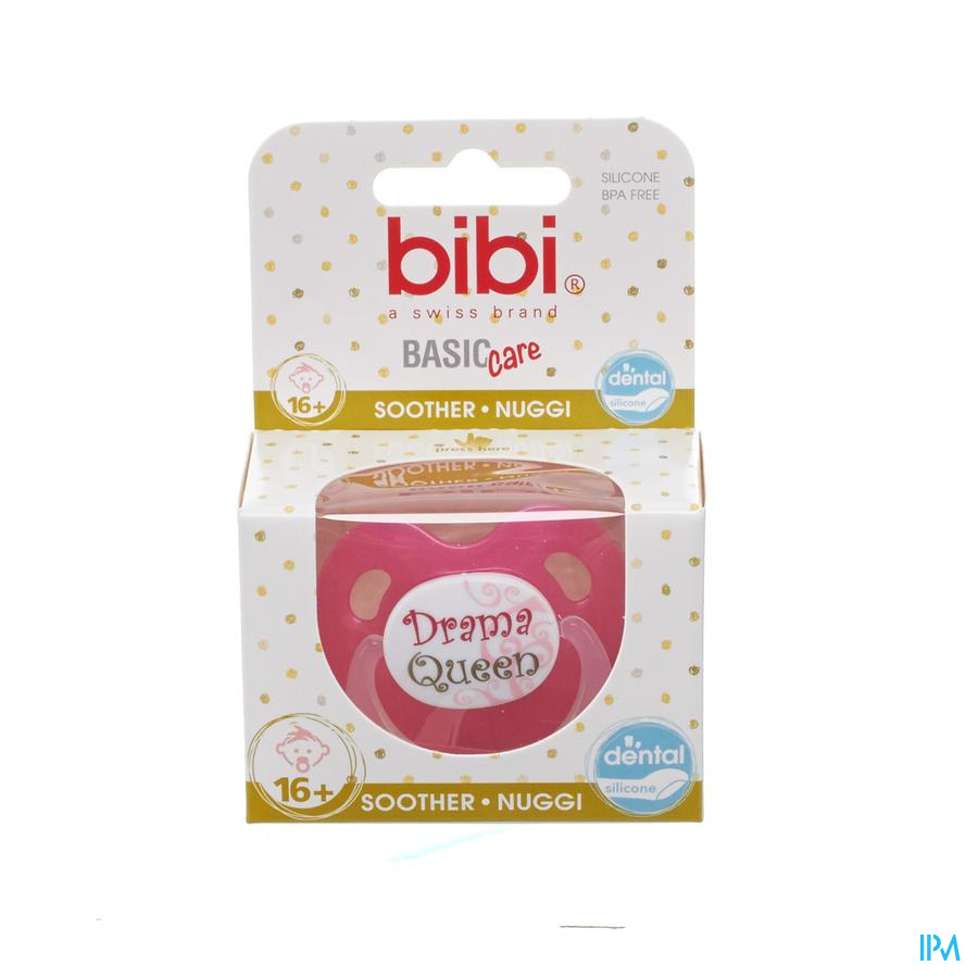 Bibi Sucette Dental Bad Boy Queen Basic Care +16m