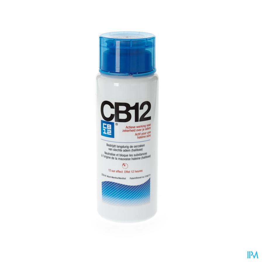 Cb12 Halitosis 12u Mondspoeling 250ml