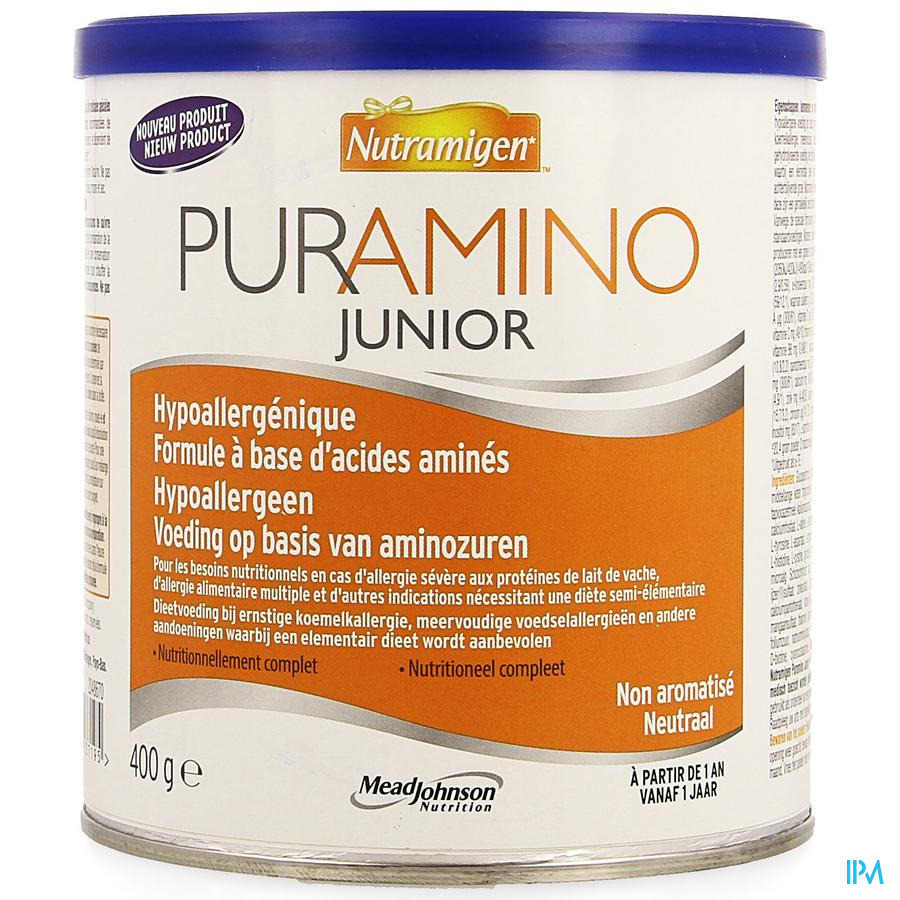 Nutramigen Puramino Junior Pdr 400g