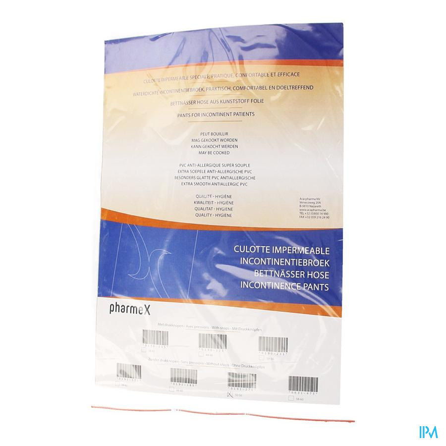 Pharmex Culotte Incont -press.50-56