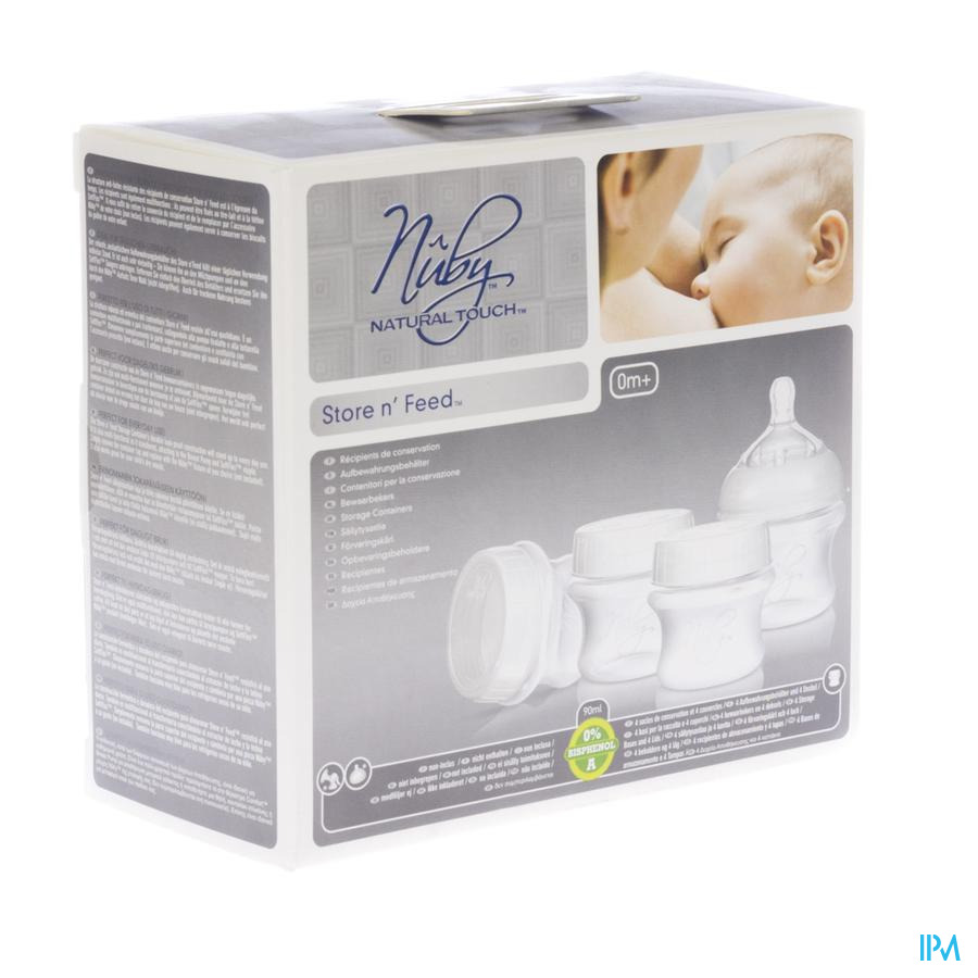 Nuby Nt Breastmilk Store N Feed 67671