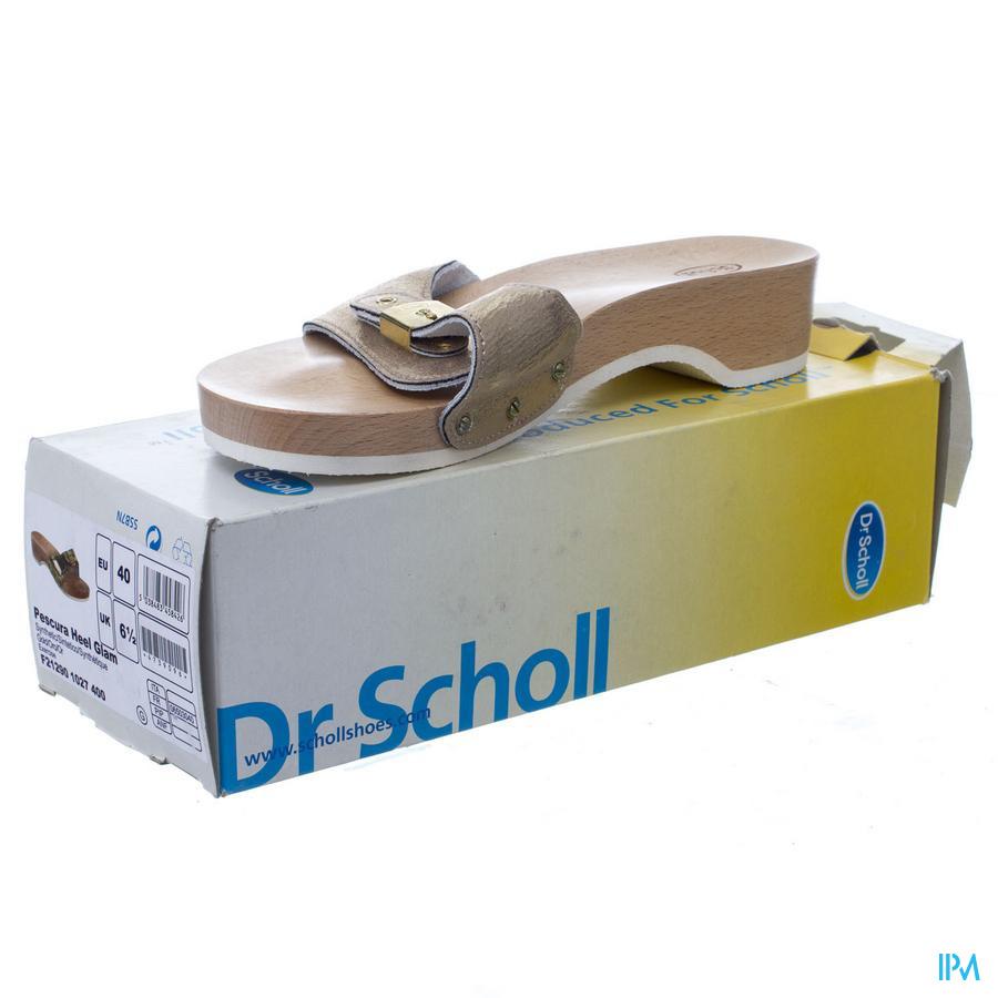 Scholl Pescura Heel Gim Gold 40