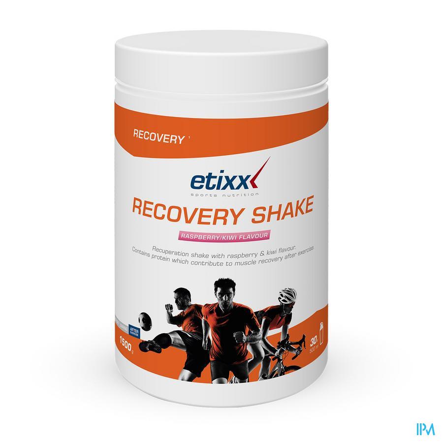 Etixx Recovery Shake Rasp/kiwi 1500g