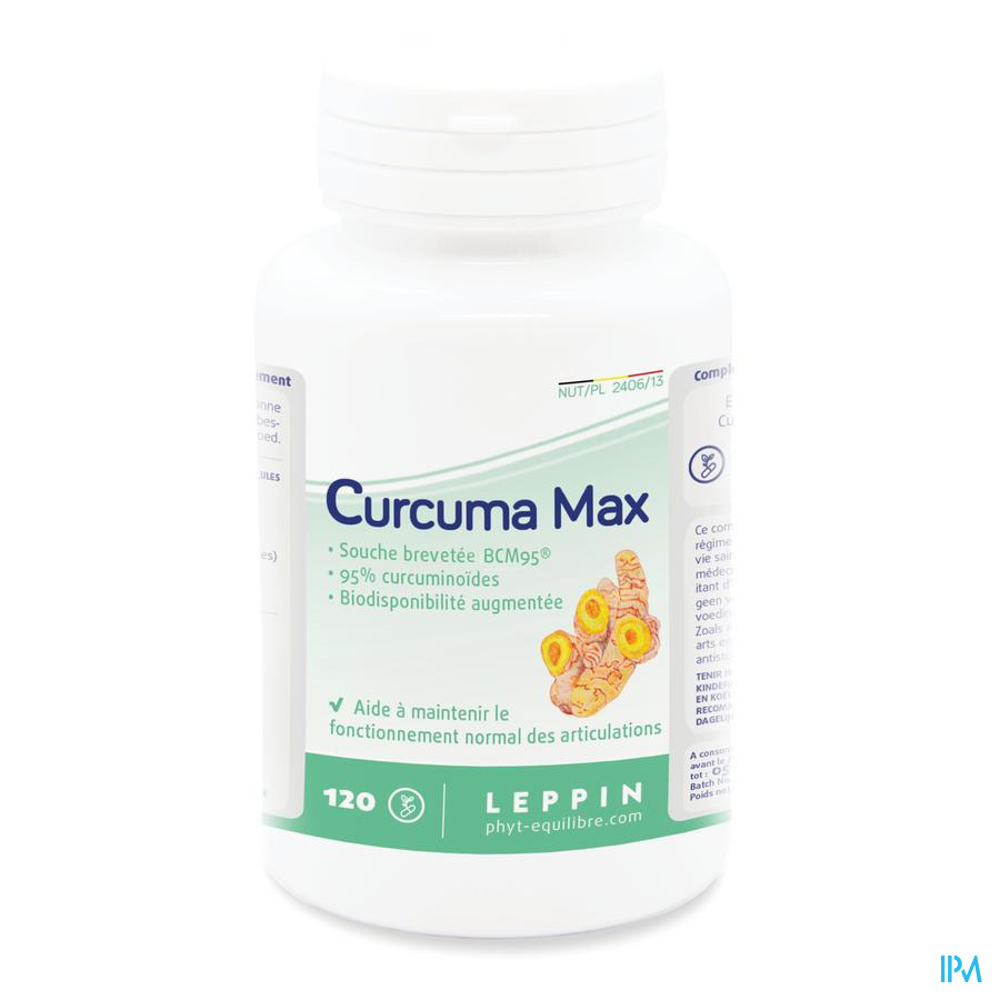 Leppin Curcuma Max Gel 120