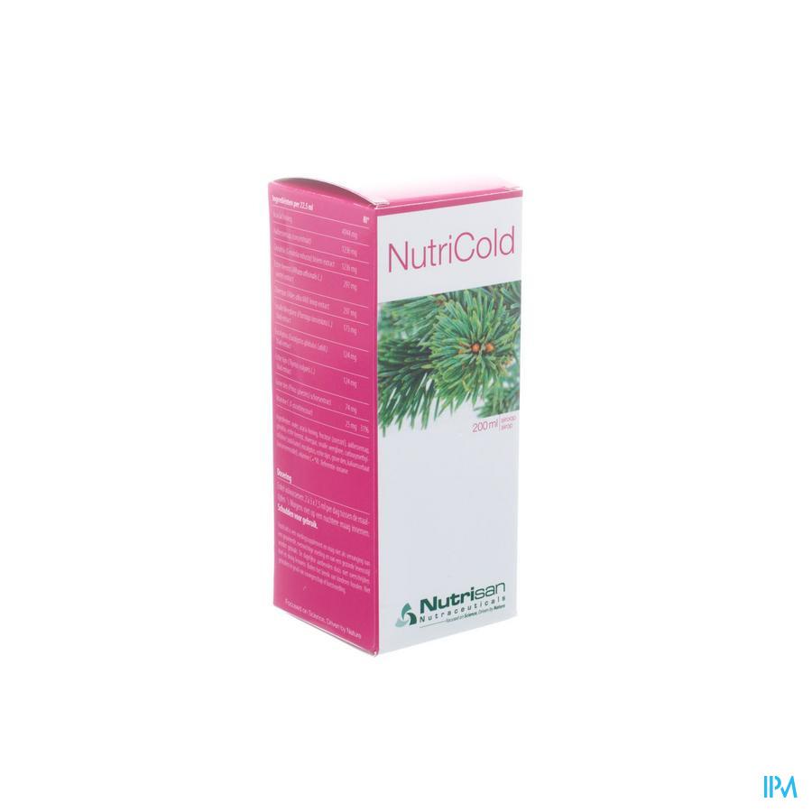 Nutricold Nf Siroop 200ml Nutrisan