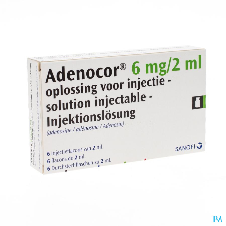 Adenocor Amp 6x2 ml