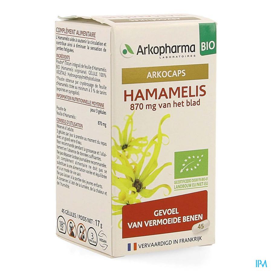 Arkocaps Hamamelis Bio Caps 45 Nf