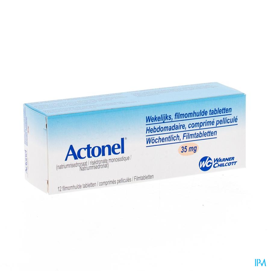 Actonel 35mg Impexeco Comp Pell 12 Pip