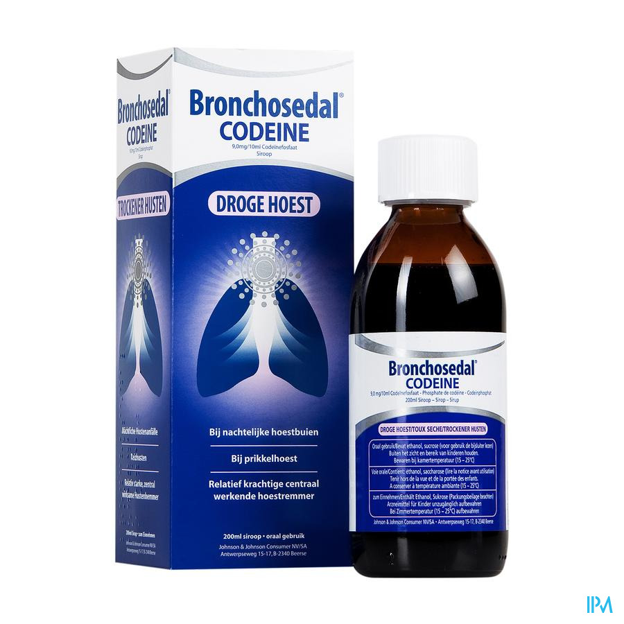Bronchosedal Codeine Sir 200ml