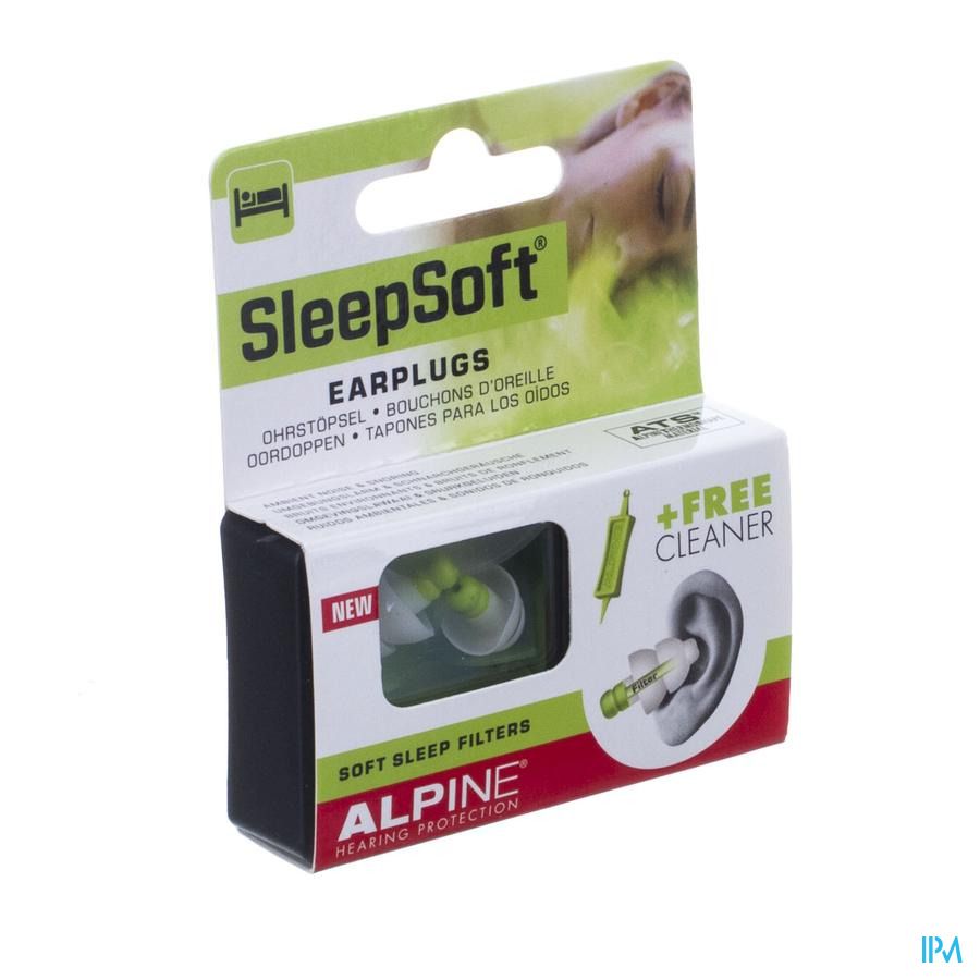 Alpine Sleepsoft Bouch. Oreille New 1p