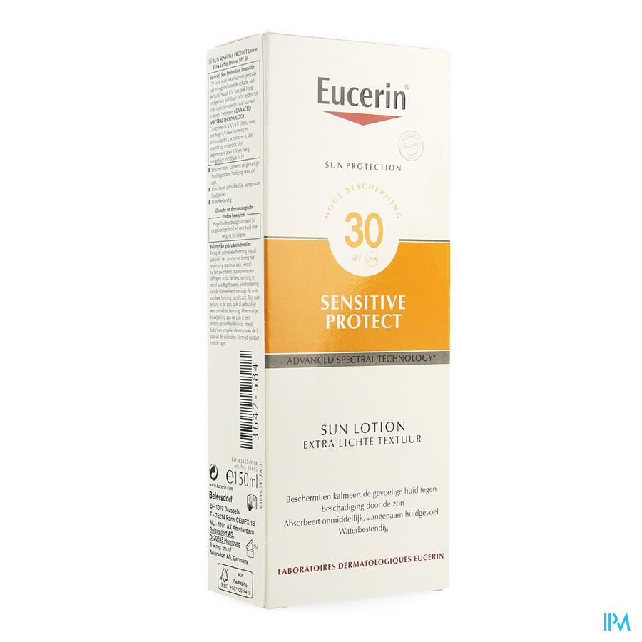 Eucerin Sun Lotion Extra Light 30 Nf 150ml