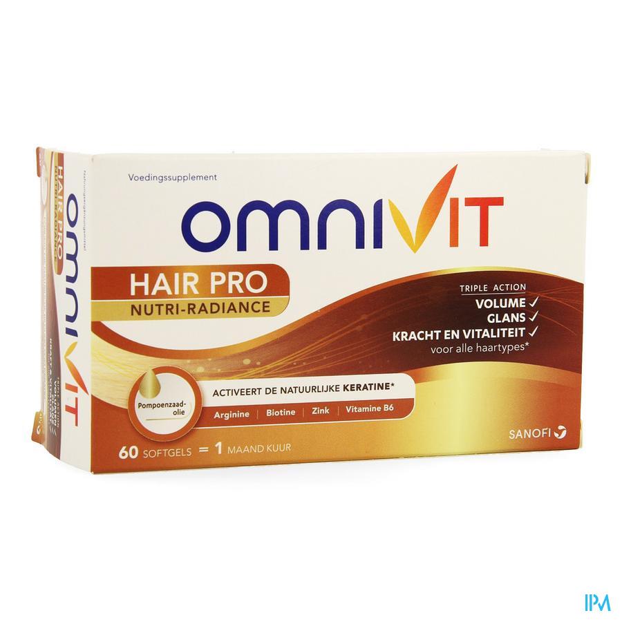 Omnivit Hair Pro Nutri Radiance Caps 60