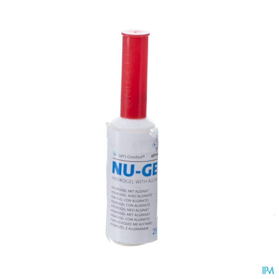 Nu-gel Hydrogel+algin. 1x25g Mng425