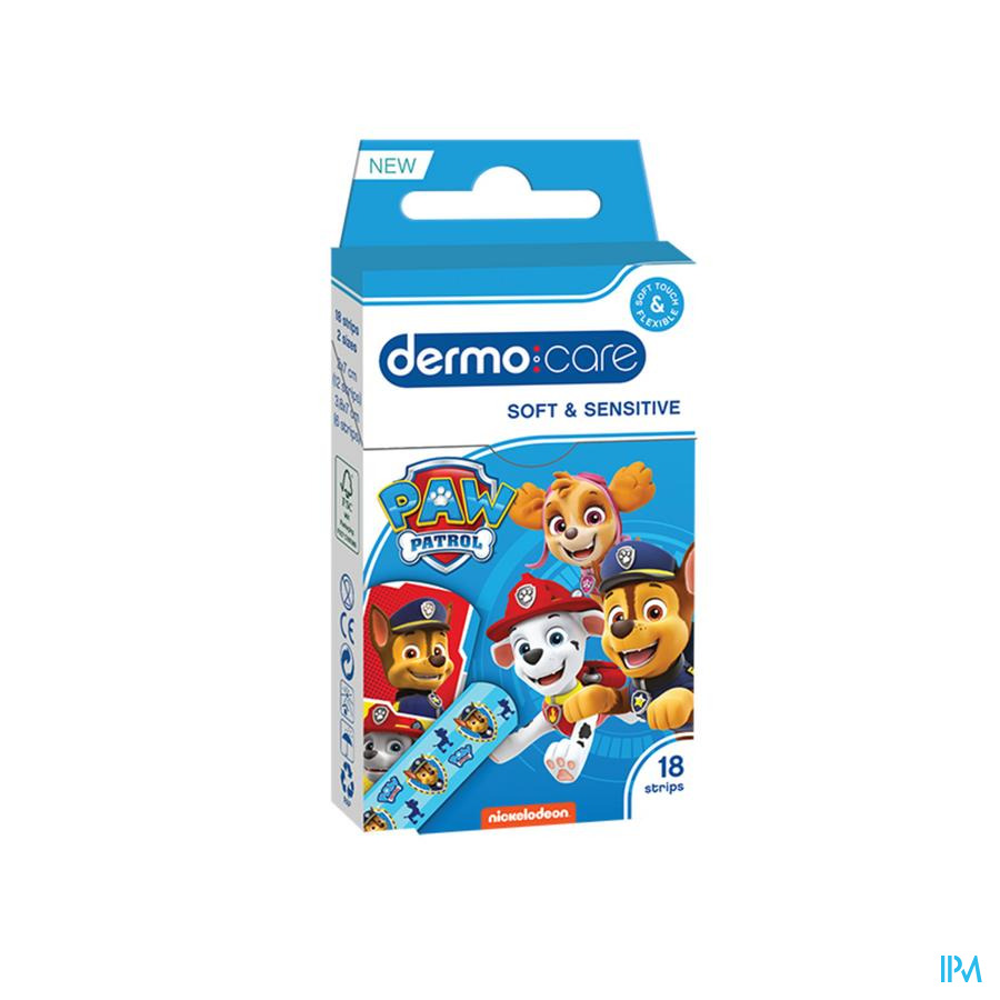 Dermo Care Soft&sens. Paw Patrol Pans. Strips 18
