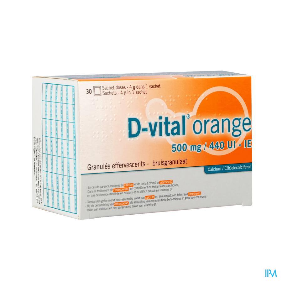 D-vital 500/440 Zakje 30