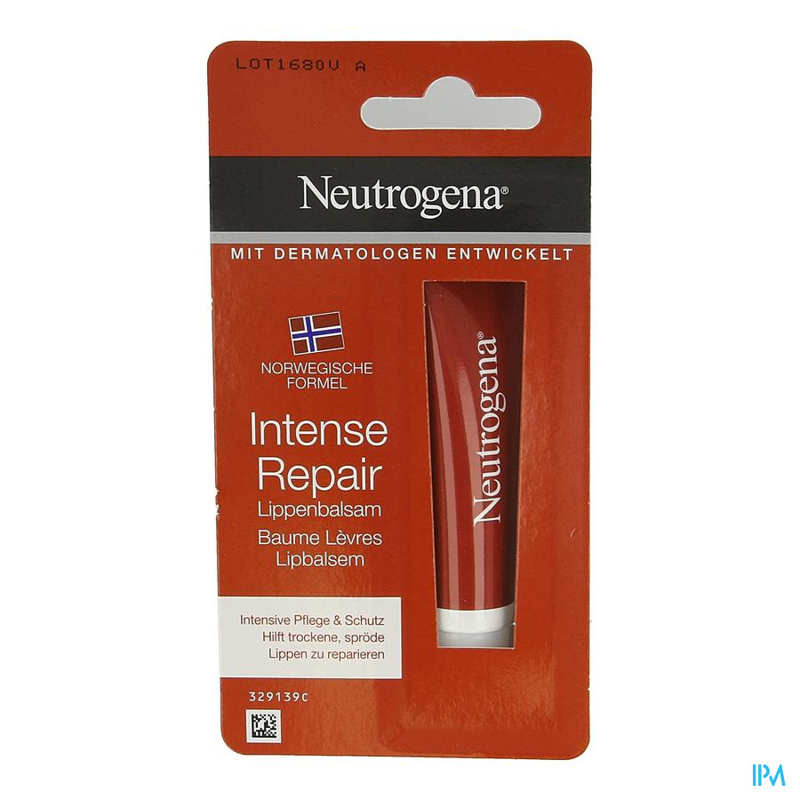 Neutrogena Baume Levre Reparation Intens Tube 15ml