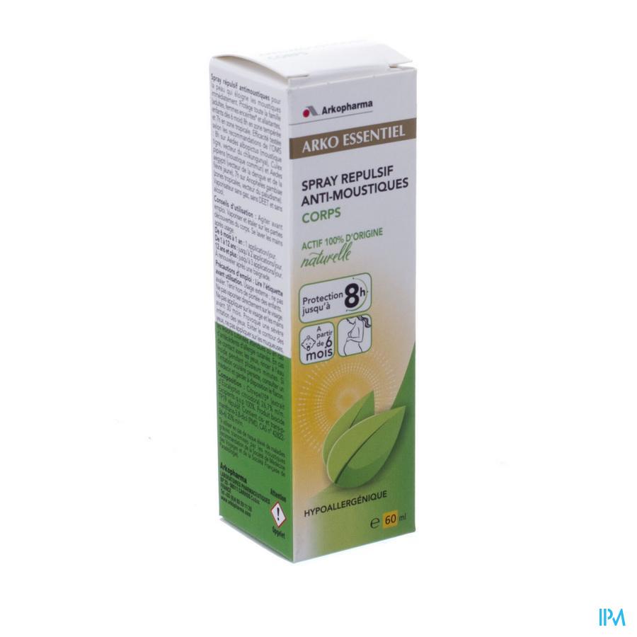 Arko Essentiel Spray Repulsif A/moustique 60ml