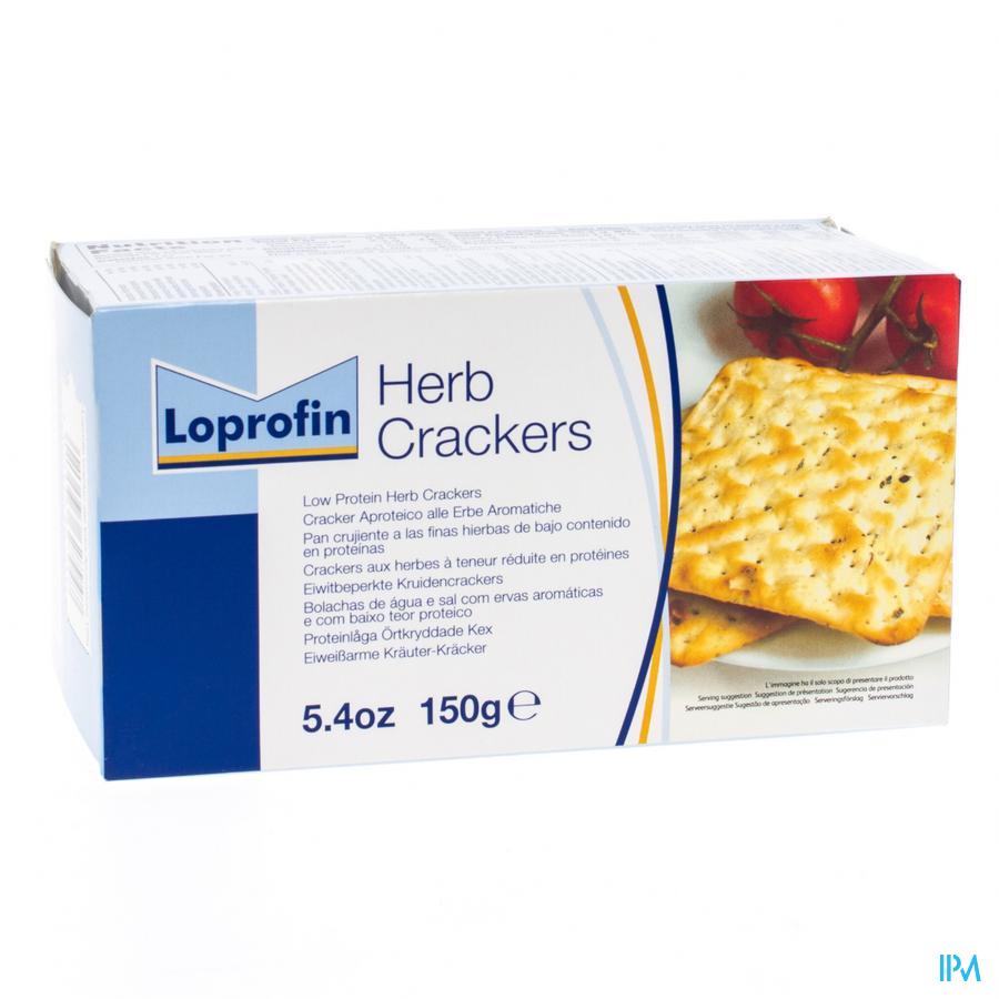 Loprofin Crackers Herbes 150 gr  -  Nutricia