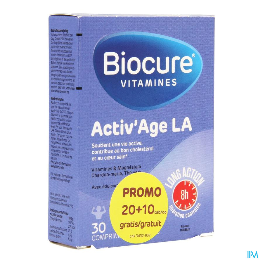 Biocure Activ Age La Comp Pell. 20+10 Promopack