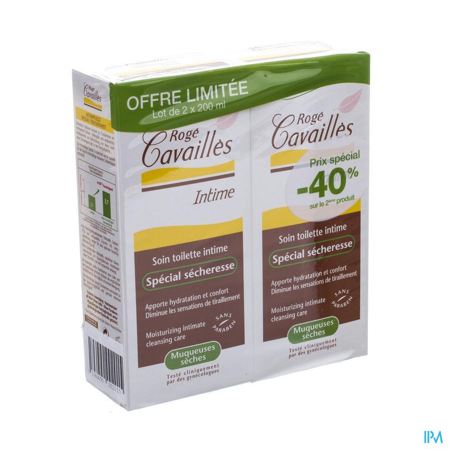 Roge Cavailles Zachte Gel Int.hyg.droogte 2x200ml