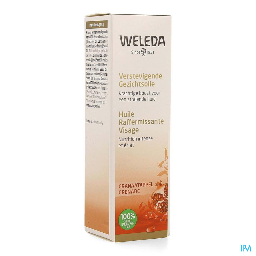 Weleda Verstevigende Gezichtsolie 30ml