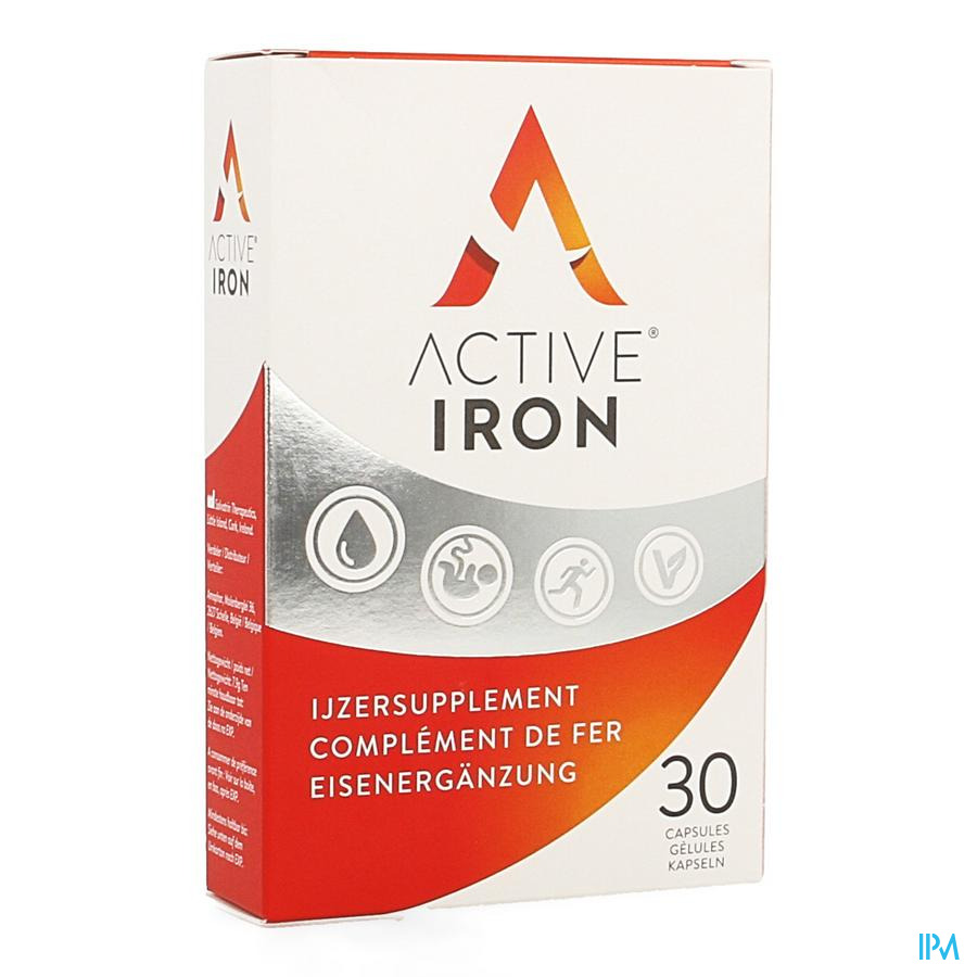 Active Iron Kind & Strong Caps 30