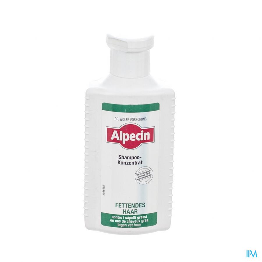 Alpecin Sh S Cheveux Gras 200ml