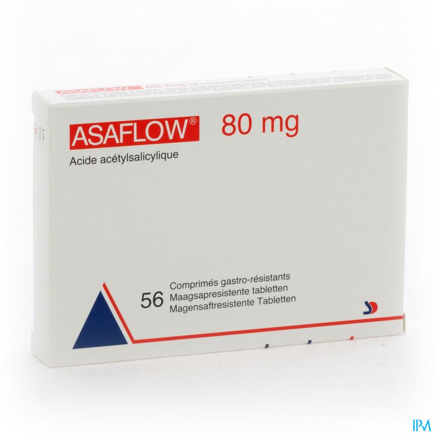 Asaflow 80mg Comp Gastro Resist Bli 56x 80mg