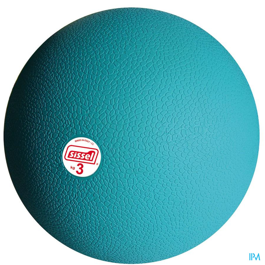 Sissel Medicine Ball 3kg 23cm Blauw