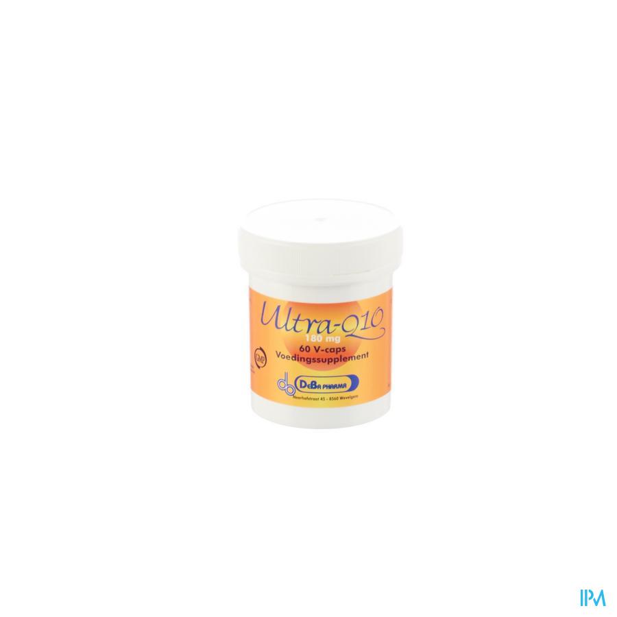 Ultra Q10 V-Capsule 60x180 mg Deba