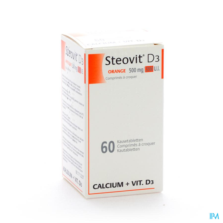 Steovit D3 500mg/200ie Comp 60