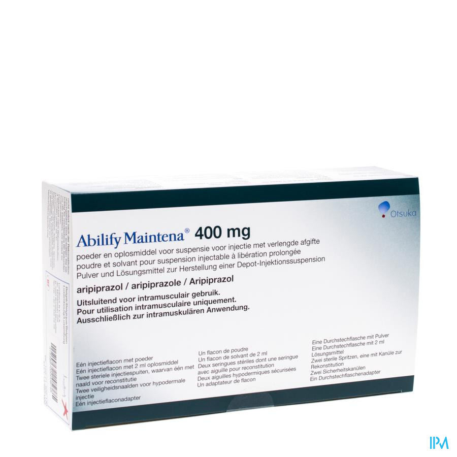 Abilify Maintena 1 Fl 400mg+ 1 Fl 2ml