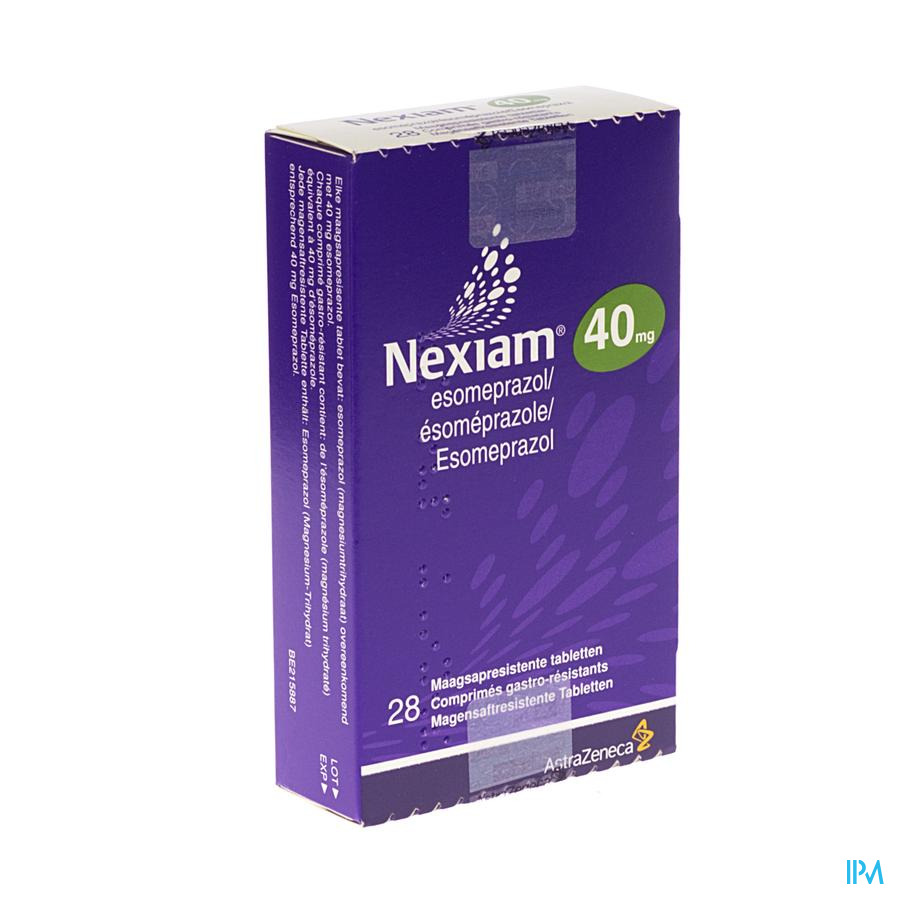 Nexiam 40mg Comp 28 X 40mg