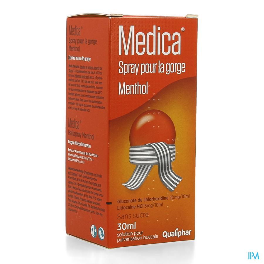 Medica Keelspray Menthol 30ml