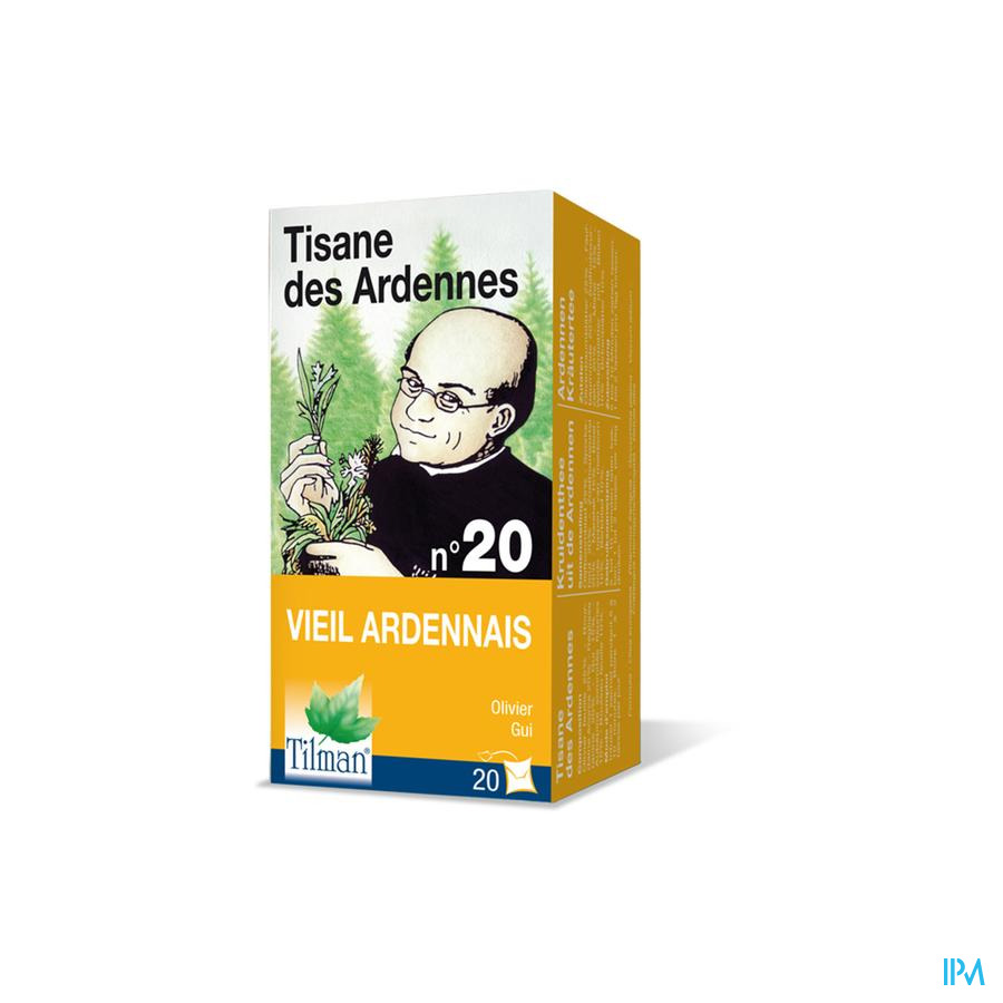 Tisane Arden. Nr.20 Hypertension