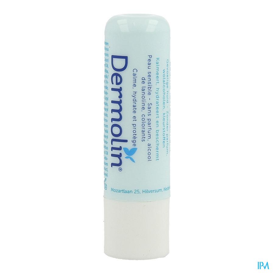 Dermolin Lippenbalsem Kalmerend Stick 4,8g