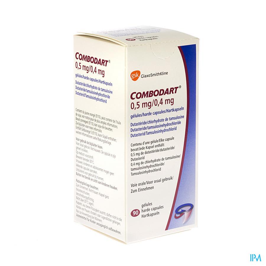 Combodart 0,5mg/0,4mg Caps 90