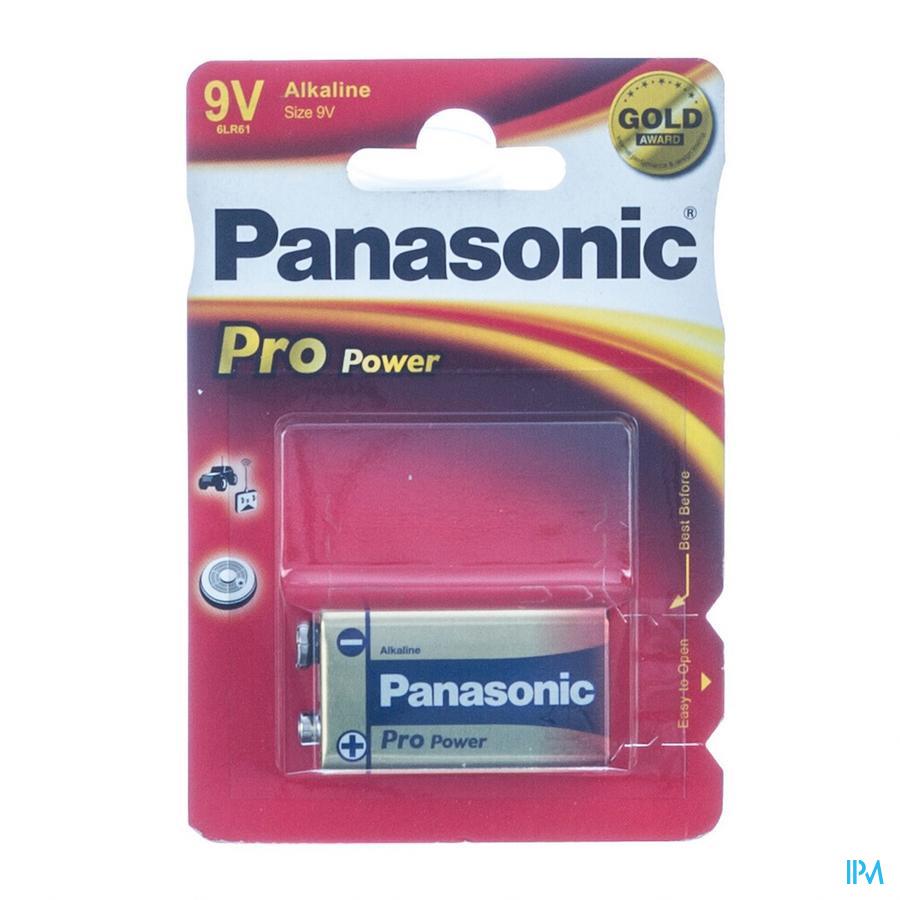 Panasonic Batterij Glr 6 9v