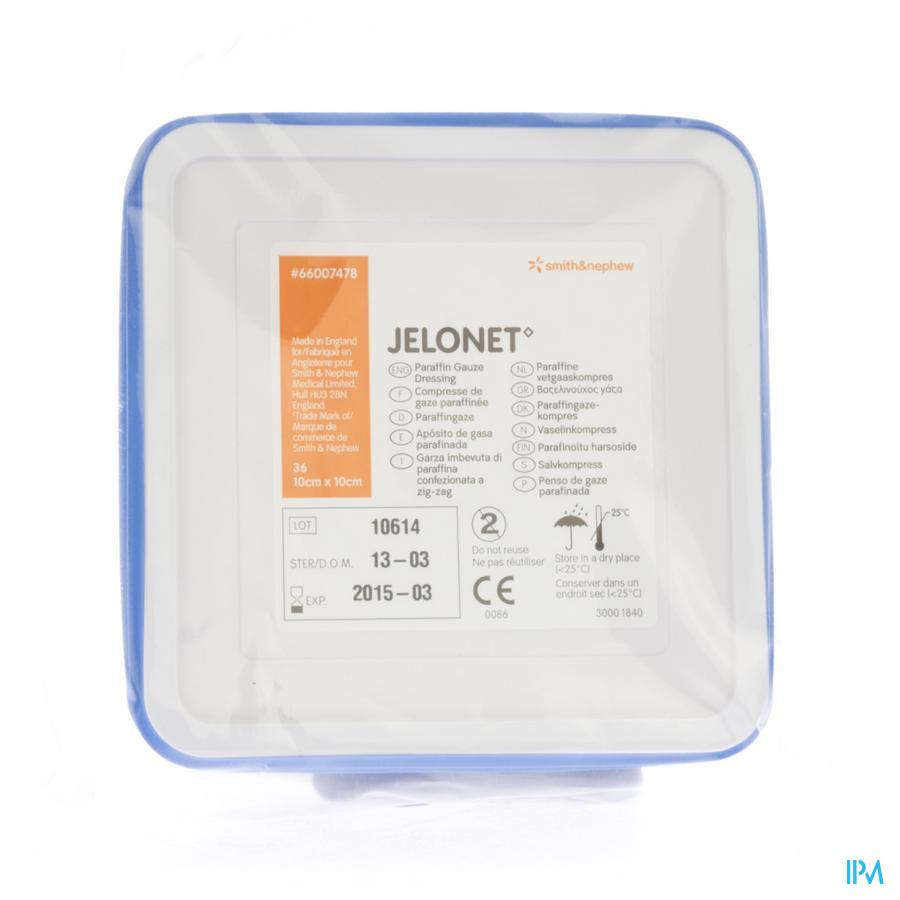 Jelonet Tin 10cmx10cm 36 66007478