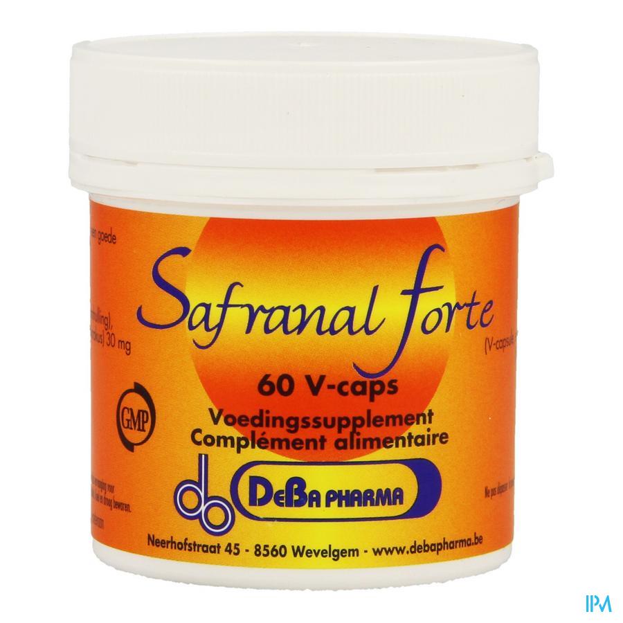 Safranal Forte V-caps 60 Deba