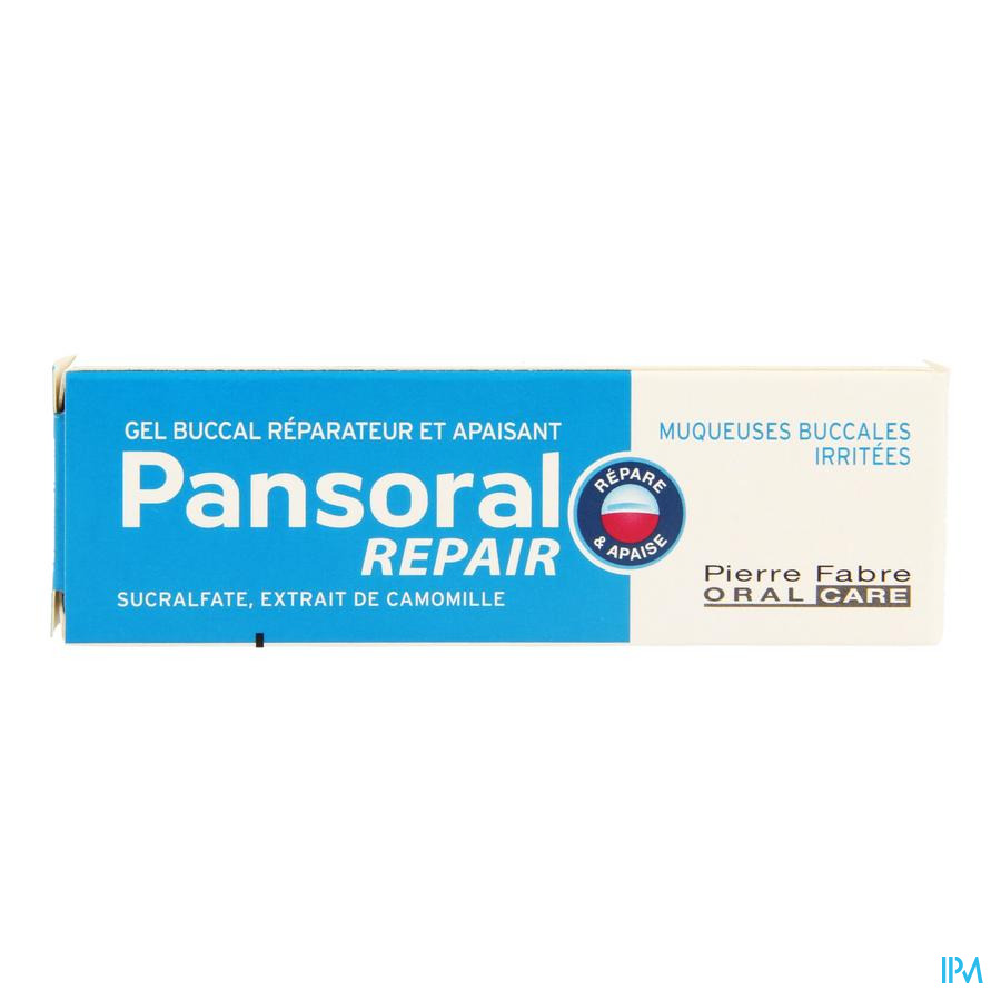 Pansoral Repair Gel Buccal Tube 15ml