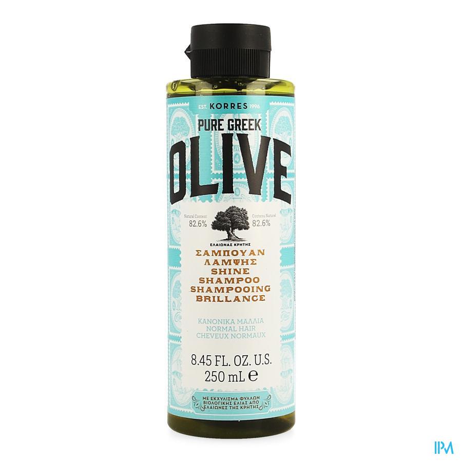 Korres Kh Olive Shampoing Brillance 250ml
